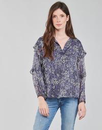 Clothing Women Tops / Blouses Ikks BABAR Blue