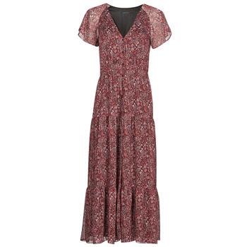 Clothing Women Long Dresses Ikks HELIONA Red