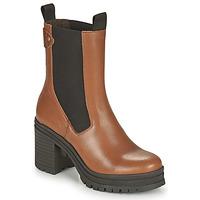 Shoes Women Ankle boots Palladium Manufacture MONA 02 NAP Brown