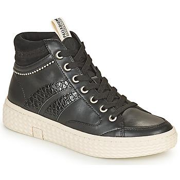 Shoes Women Hi top trainers Palladium Manufacture TEMPO 03 SYN Black