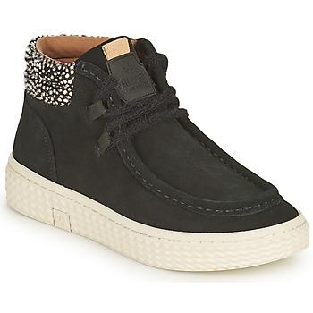 Shoes Women Hi top trainers Palladium Manufacture TEMPO 10 SUD Black