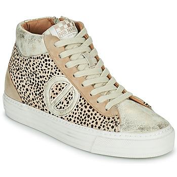 Shoes Women Hi top trainers No Name STRIKE MID CUT Beige