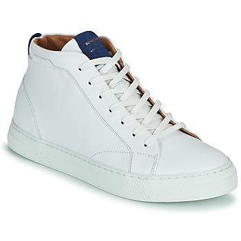Shoes Men Hi top trainers Schmoove SPARK MID White