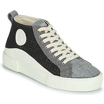 Shoes Women Hi top trainers Armistice FOXY MID LACE W Black