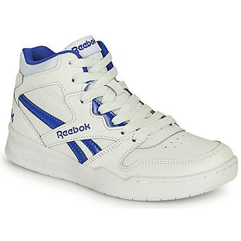 Shoes Children Hi top trainers Reebok Classic BB4500 COURT White / Blue