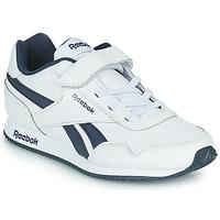 Shoes Children Low top trainers Reebok Classic REEBOK ROYAL CLJOG White / Marine