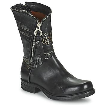 Shoes Women Mid boots Airstep / A.S.98 SAINTEC CO Black