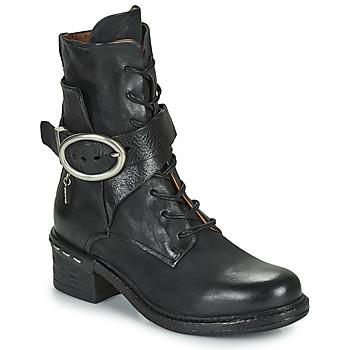 Shoes Women Ankle boots Airstep / A.S.98 NOVASUPER LACE Black