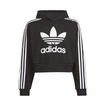 Clothing Children Sweaters adidas Originals THRENI Black