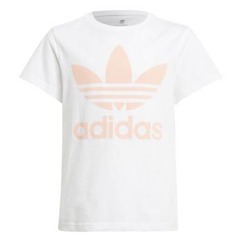 Clothing Children Short-sleeved t-shirts adidas Originals VAGUO White