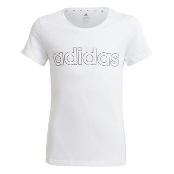 Clothing Girl Short-sleeved t-shirts adidas Performance HOLLIA White