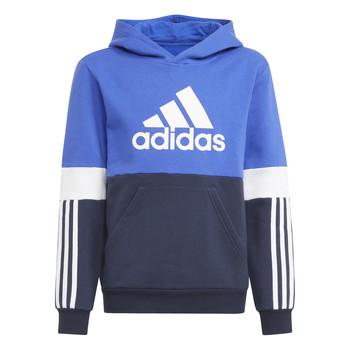 Clothing Boy Sweaters adidas Performance NADJET Marine / Black