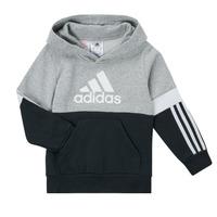 Clothing Boy Sweaters adidas Performance CRAKA Grey / Black