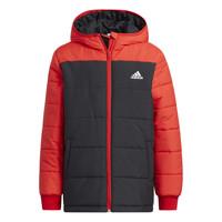 Clothing Children Duffel coats adidas Performance RACHELA Red / Black