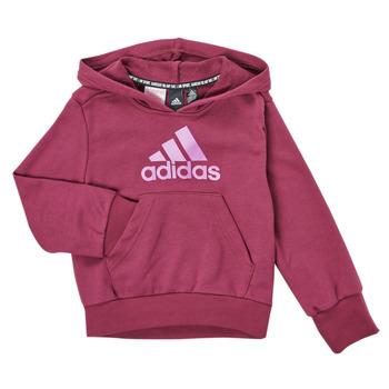 Clothing Girl Sweaters adidas Performance MARINE Pink