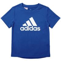 Clothing Boy Short-sleeved t-shirts adidas Performance CLAUDIA Blue