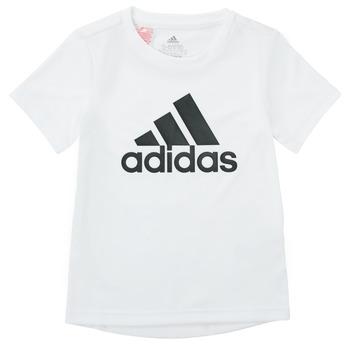 Clothing Boy Short-sleeved t-shirts adidas Performance NADEGE White