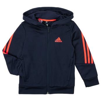 Clothing Boy Sweaters adidas Performance HOODIZ Marine