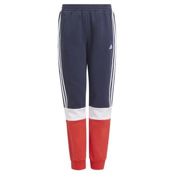 Clothing Boy Tracksuit bottoms adidas Performance ALMANA Marine / Red