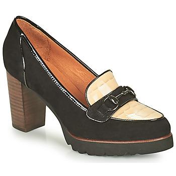 Shoes Women Heels Mam'Zelle URBANO Black / White