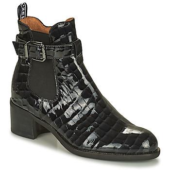 Shoes Women Mid boots Mam'Zelle LOPEZ Black