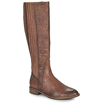 Shoes Women High boots Mam'Zelle SAPA Brown