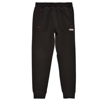 Clothing Boy Tracksuit bottoms Fila REBALA Black