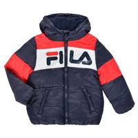 Clothing Children Duffel coats Fila DERIENA Red / Marine