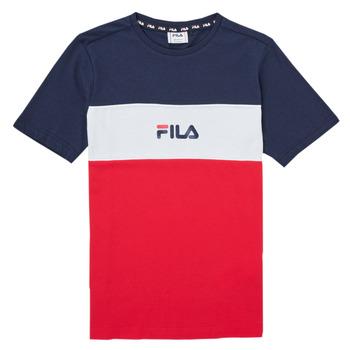 Clothing Girl Short-sleeved t-shirts Fila TEKANI Red / Marine