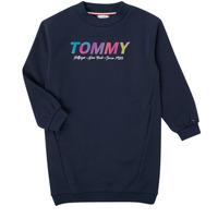 Clothing Girl Short Dresses Tommy Hilfiger BELISTA Marine