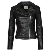 Clothing Women Leather jackets / Imitation leather Esprit PU BIKER Black