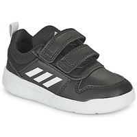 Shoes Children Low top trainers adidas Performance TENSAUR I Black / White