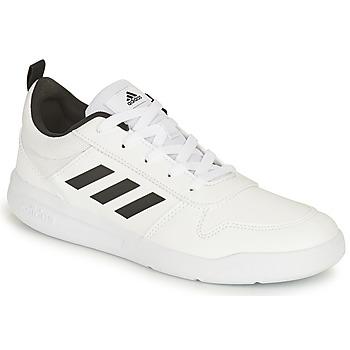 Shoes Children Low top trainers adidas Performance TENSAUR K White / Black