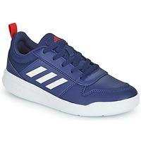 Shoes Children Low top trainers adidas Performance TENSAUR K Marine / White
