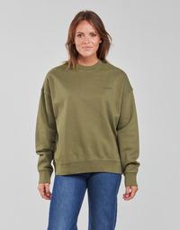 Clothing Women Sweaters Levi's WFH SWEATSHIRT Kaki