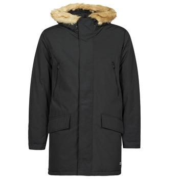 Clothing Men Parkas Levi's WOODSIDE LONG UTLTY PRKA Black