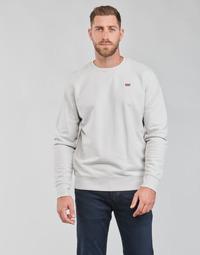 Clothing Men Sweaters Levi's NEW ORIGINAL CREW Grey