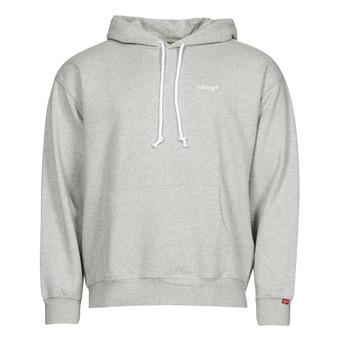 Clothing Men Sweaters Levi's RED TAB SWEATS HOODIE Grey
