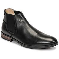 Shoes Men Mid boots Jack & Jones JFW FRANK LEATHER Black