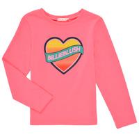 Clothing Girl Long sleeved tee-shirts Billieblush DEKOU Pink