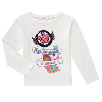 Clothing Girl Long sleeved tee-shirts Billieblush FADILA White
