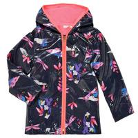 Clothing Girl Parkas Billieblush SEMILA Marine
