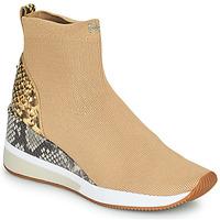 Shoes Women Hi top trainers MICHAEL Michael Kors SKYLER Camel