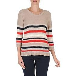Clothing Women jumpers S.Oliver ZARA Beige / Blue / White / Orange