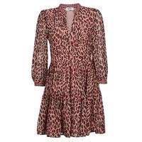 Clothing Women Short Dresses Liu Jo WF1019 Leopard