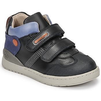 Shoes Boy Hi top trainers Biomecanics BIOEVOLUTION BOY Marine