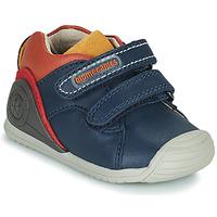 Shoes Boy Low top trainers Biomecanics BIOGATEO CASUAL Marine