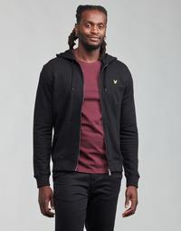 Clothing Men Sweaters Lyle & Scott KANLIBE Black