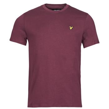 Clothing Men Short-sleeved t-shirts Lyle & Scott ROBINA Bordeaux