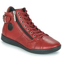 Shoes Women Hi top trainers Pataugas PALME  sangria